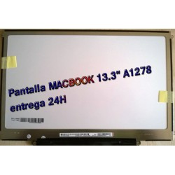 "PANTALLA HD LED PARA MACBOOK 13.3"" A1278 LP133WX2 TL G6 ENTREGA 24H"