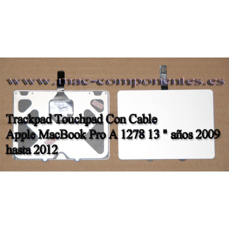 """Trackpad Touchpad Con Cables Apple MacBook Pro A 1278 13 """" 2009 2010, 2011, 2012"""