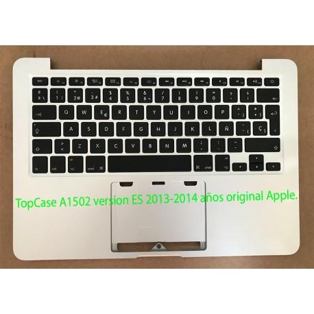 TopCase MacBook Pro A1502 ESPAÑOL 2013 2014 Original Apple