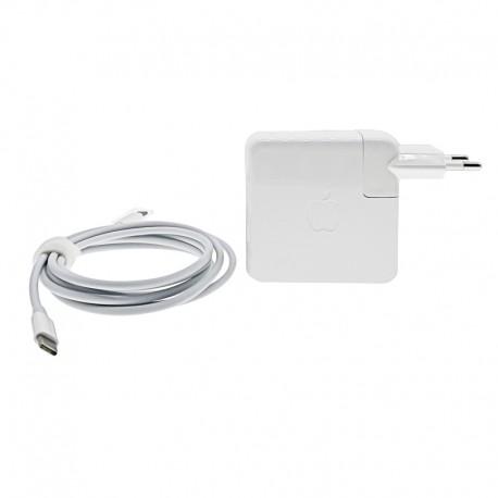 Cargador Original Apple MacBook Pro MPDL2D/A-USB-C Adaptador 61W