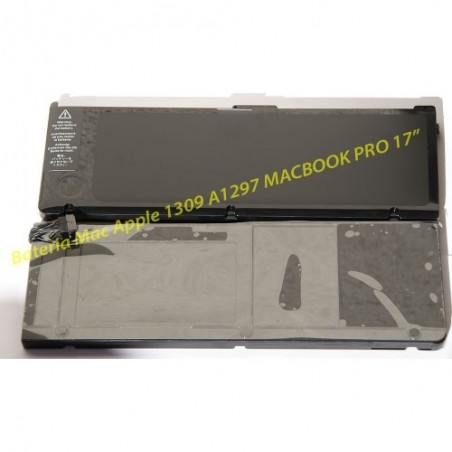 "Bateria para Apple A1309 A1297 Macbook Pro 17"""