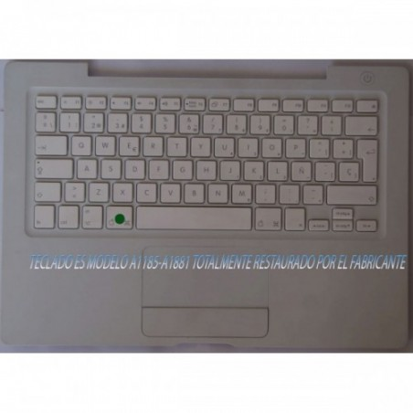 Teclado Macbook A1181 Español Años 2006 al 2009