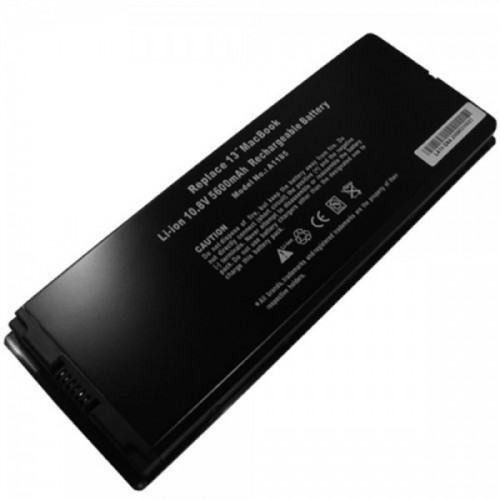 Batería para modelo A1185 Negra 5600 mAh
