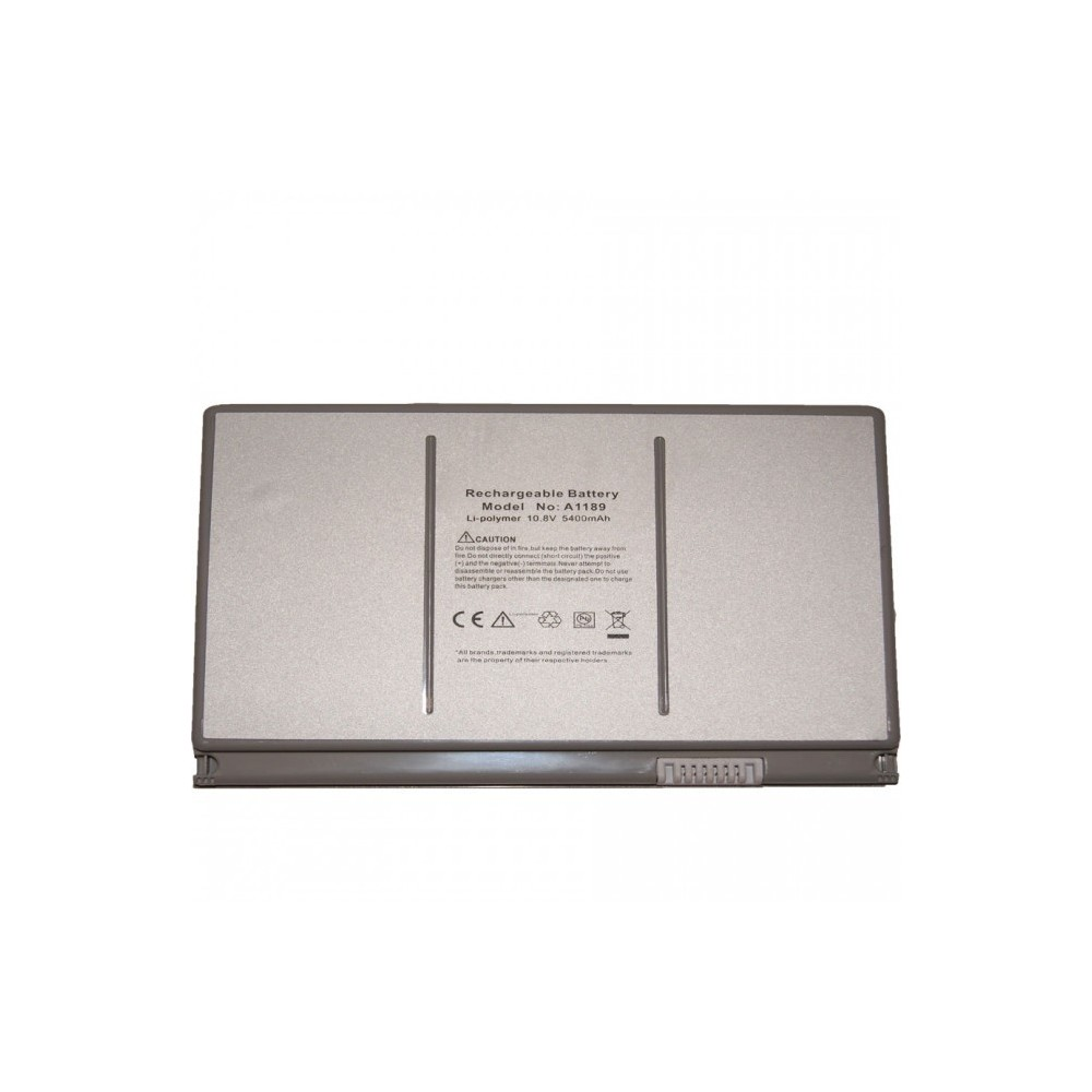 "Batería para Apple MacBook Pro 17"" A1189 A1151 MA092 5400mAh"