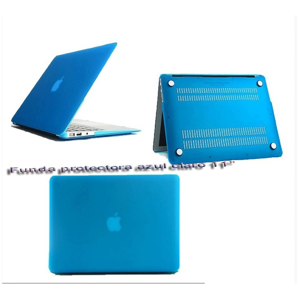 Funda protectora azul claro para MacBook Air 11