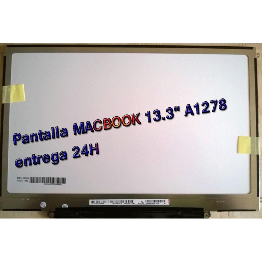 """PANTALLA HD LED PARA MACBOOK 13.3"""" A1278 LP133WX2 TL G6 ENTREGA 24H"""