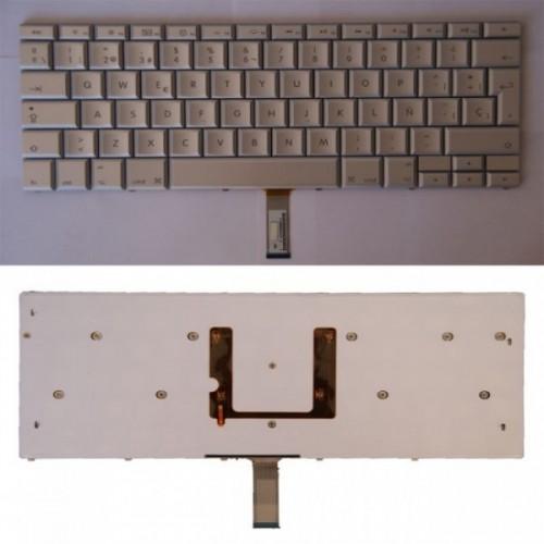 """Teclado ES para  MacBook Pro 15"""" CON Ñ A1260 A1261 A1226 A1211"""