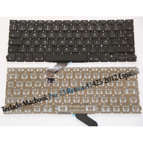 Teclado para Apple MacBook Pro 13 2.5GHz Core i5 MD212LL/A A1425