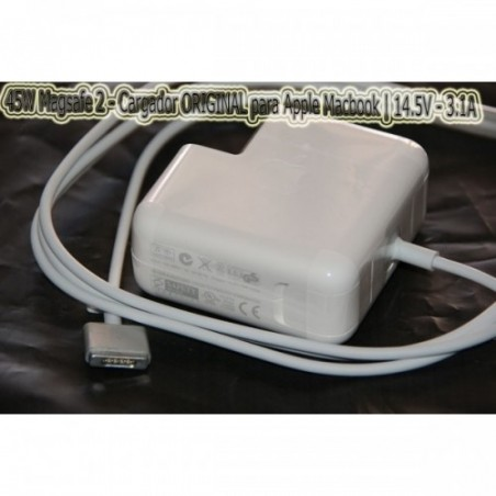 Cargador 45W Magsafe 2 ORIGINAL  para Apple Macbook | 14.5V - 3.1A