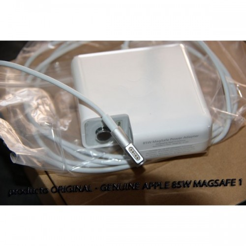 Cargador Original Apple 85W MagSafe Power Adapter para MacBook Pro - Blanco