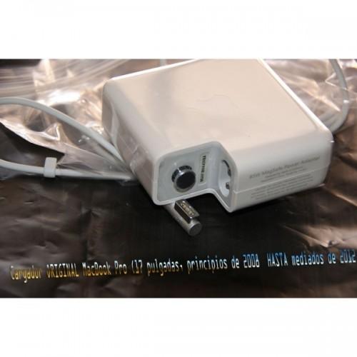 Cargador Original Apple 85W MagSafe Power Adapter para MacBook Pro - Blanco