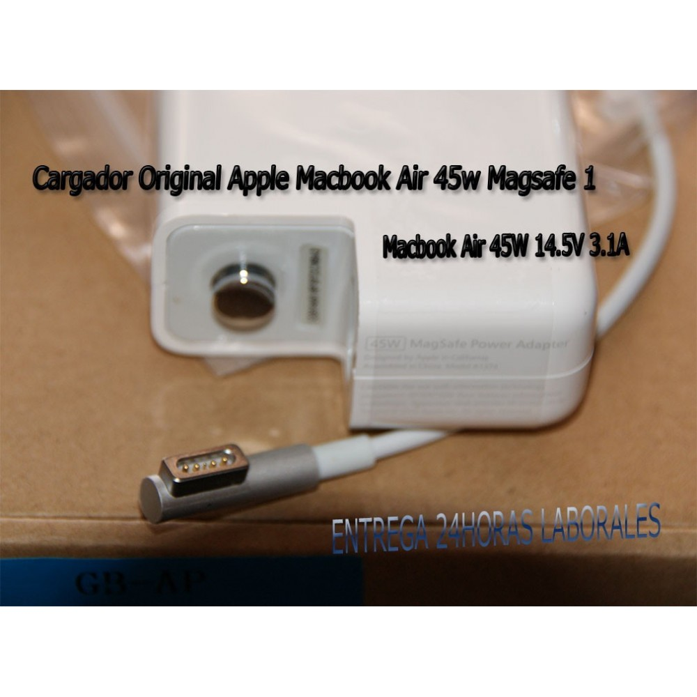 Cargador ORIGINAL Macbook Air 45W Magsafe 1
