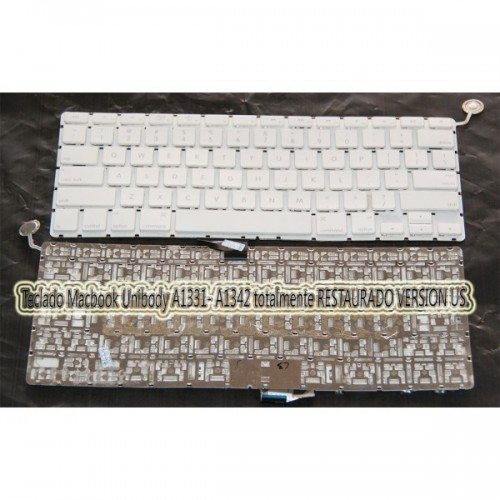 Teclado Macbook Unibody A1331 RESTAURADO 100%