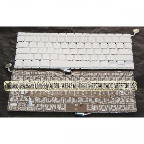 Teclado Macbook Unibody A1331 RESTAURADO 100%