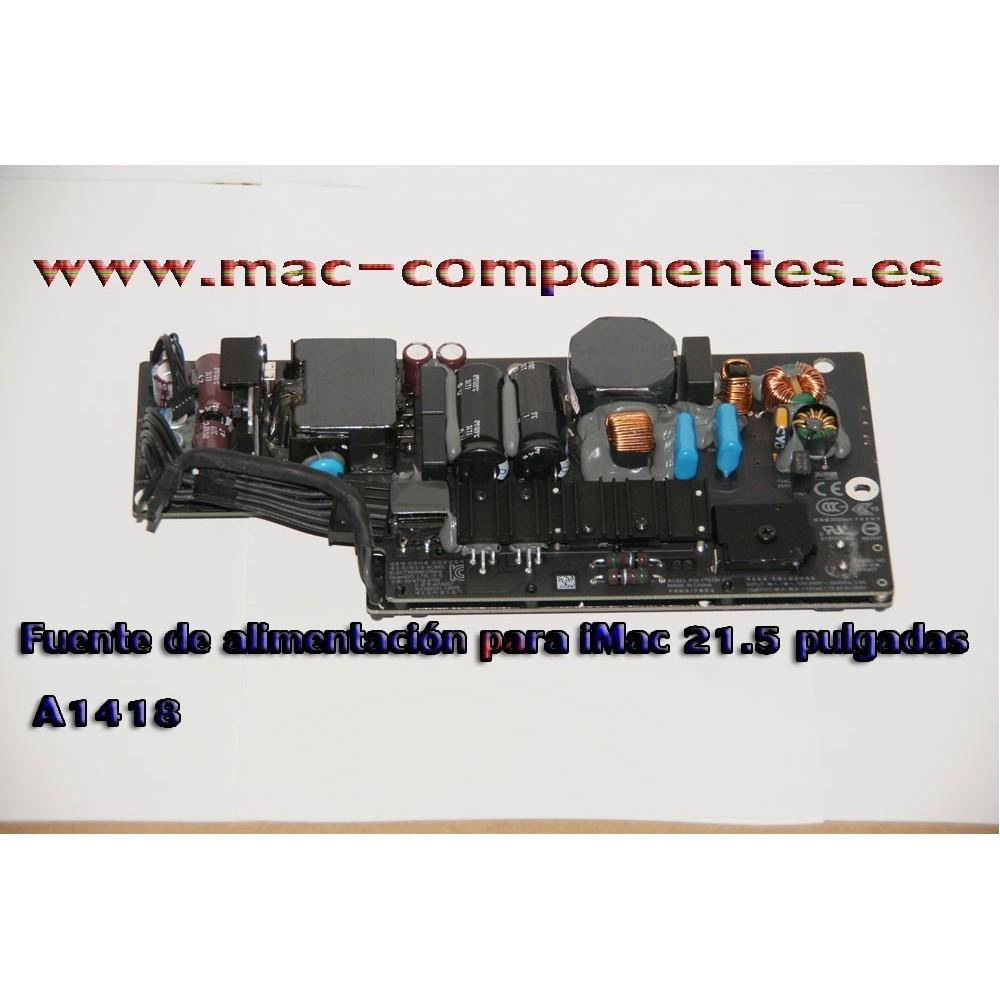 Fuente de alimentación para iMac 21.5 pulgadas A1418 años 2012-2014