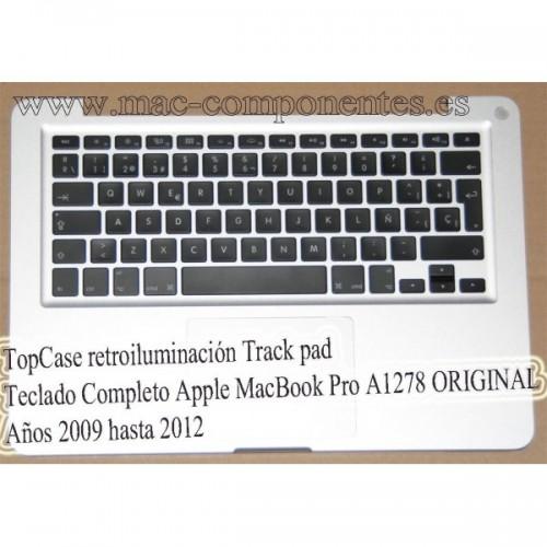 TopCase retroiluminación Teclado Completo Apple MacBook Pro A1278 13.3'' Mid 2012 661-6595 Español