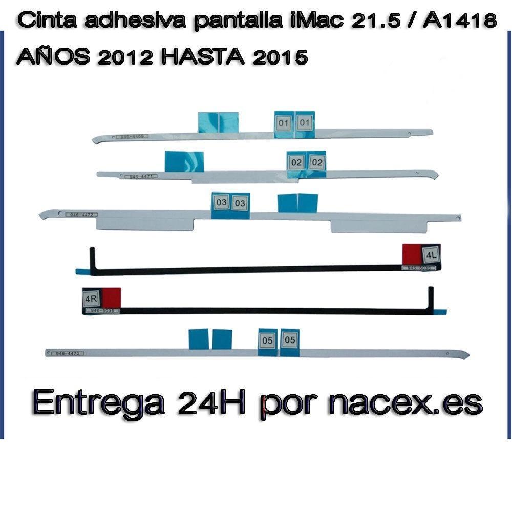 Cinta adhesiva pantalla 21.5 / A1418 iMac16