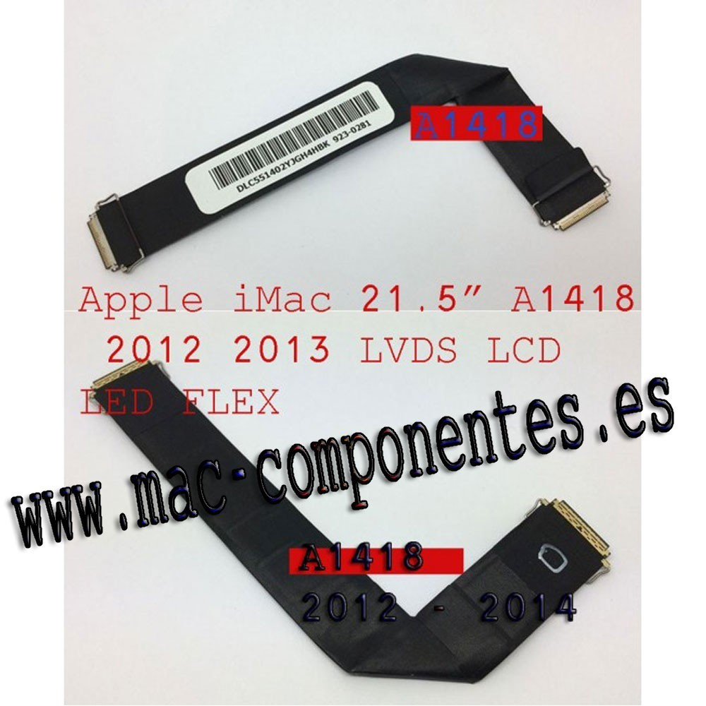 "Cable LVDS LCD LED Flex iMac 21.5 "" (Late 2012) A1418"