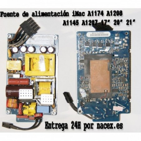 "Fuente de Alimentacion Apple iMac A1208 17"" Desktop - MA590LL (September"
