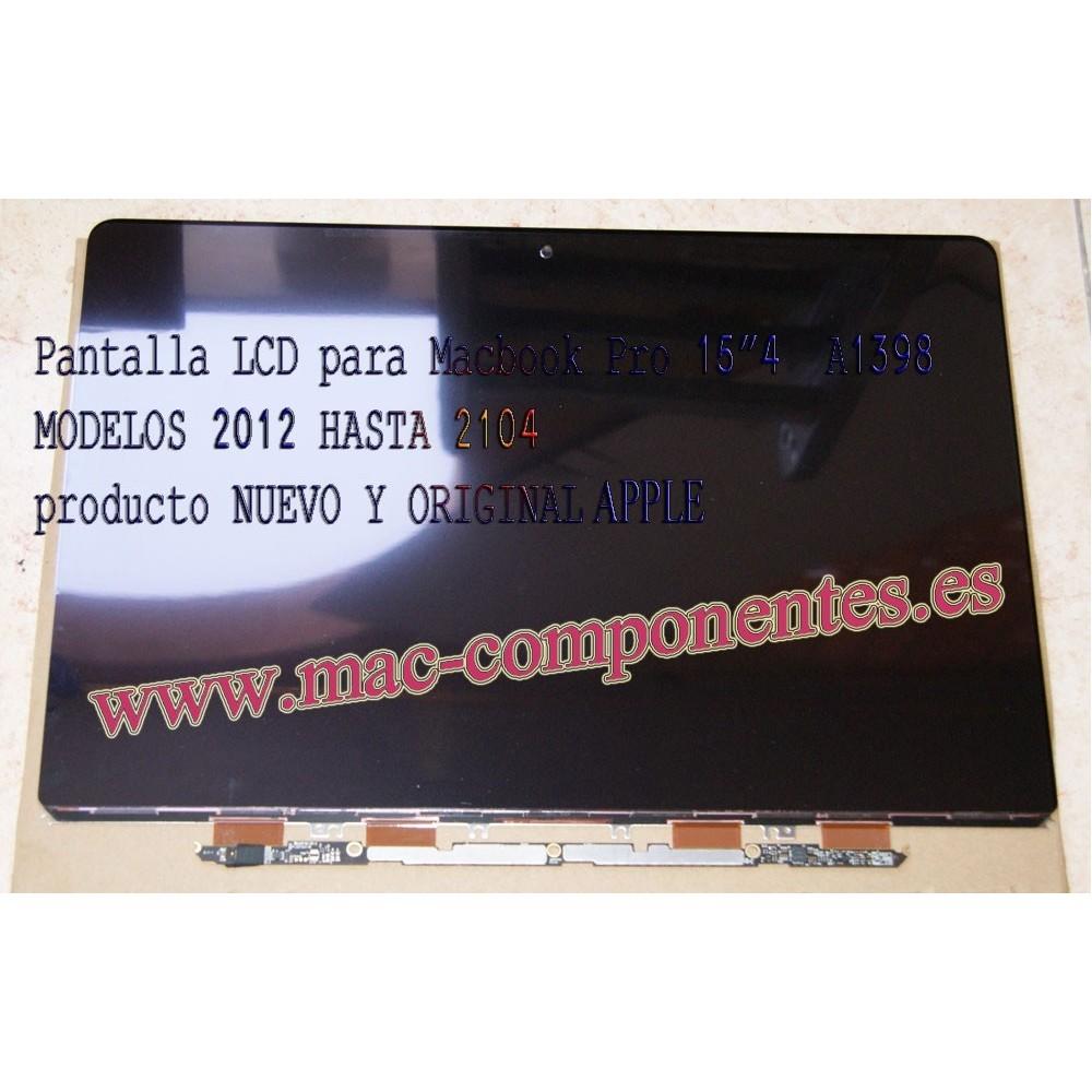 """Pantalla LCD para Macbook Pro 15""""4 A1398 NUEVA - ORIGINAL"""