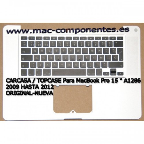 TopCase Carcasa completa MC118LL / A Modelo A1286 (EMC 2324 *) Version ES