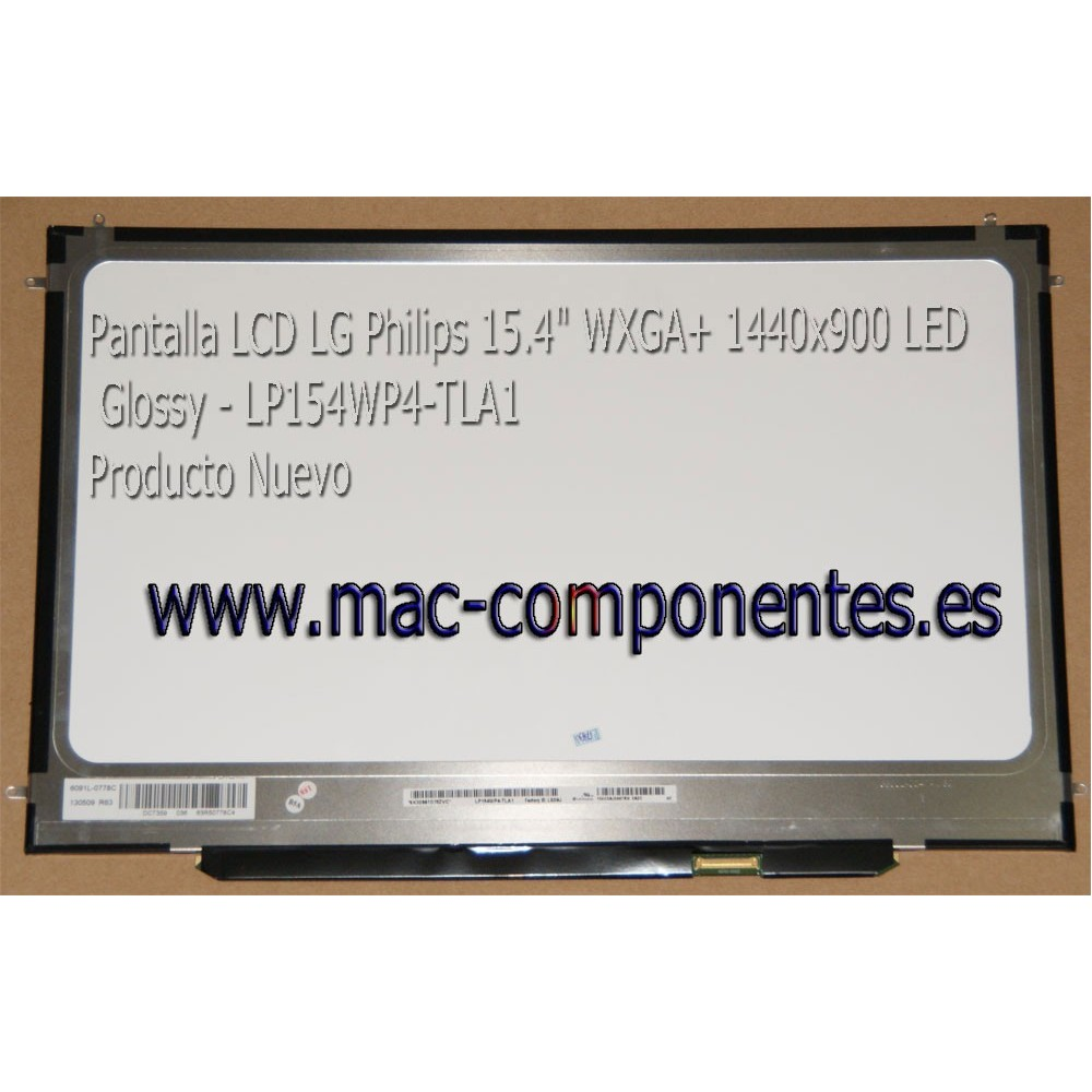Pantalla para Apple MacBook A1286 15.4 LCD LED WXGA Brillante LP154WP3 TL A3