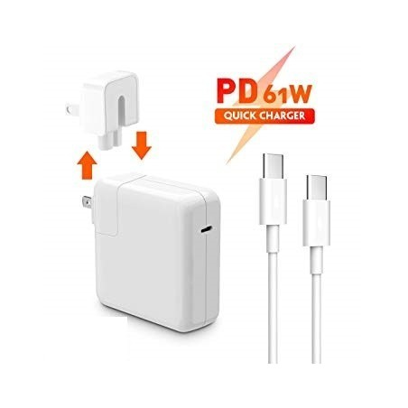 Cargador Apple MacBook Pro MPDL2ZE/A-USB-C Adaptador 61W