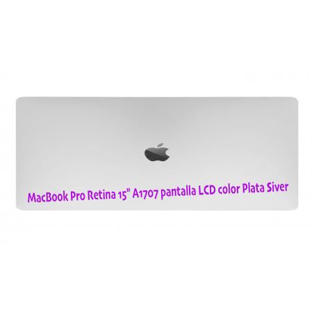 pantalla completa A1707 Color Plata Silver